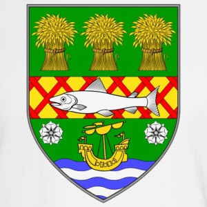 County Down Ireland Flag Coat of Arms Long Sleeve Shirts - Men's Long Sleeve T-Shirt