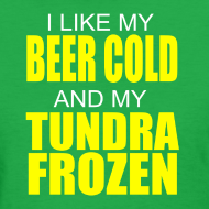 Design ~ Beer Cold & Tundra Frozen