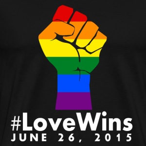 Love Wins T-Shirts - Men's Premium T-Shirt