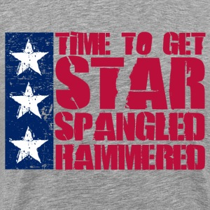 Star Spangled Hammered T-Shirts - Men's Premium T-Shirt