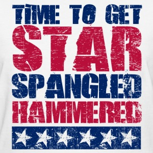 Star Spangled Hammered Women's T-Shirts - Women's T-Shirt