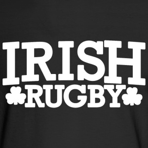 Irish Ireland Rugby Shamrocks Long Sleeve Shirts - Men's Long Sleeve T-Shirt