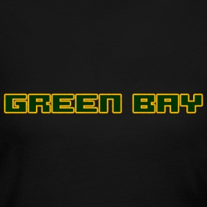 Green Bay Block Yellow  Long Sleeve Shirts - Women's Long Sleeve Jersey T-Shirt