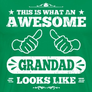 Awesome Grandad T-Shirts - Men's Premium T-Shirt