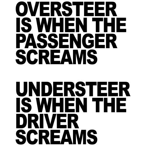 Oversteer vs Understeer 1
