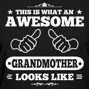 Awesome Grandmother Women's T-Shirts - Women's T-Shirt