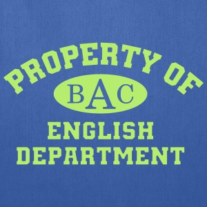 Property Of English Department - Tote Bag