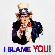 Design ~ I Blame You - Retro Uncle Sam Pointing