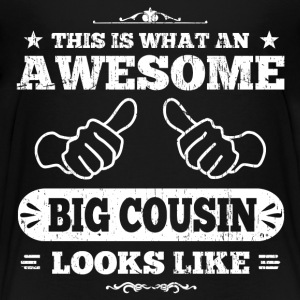 Awesome Big Cousin Kids' Shirts - Kids' Premium T-Shirt