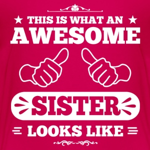 Awesome Sister Looks Like Kids' Shirts - Kids' Premium T-Shirt