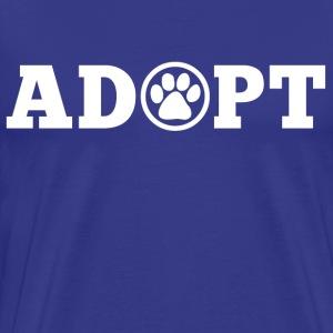 Adopt An Animal T-Shirts - Men's Premium T-Shirt