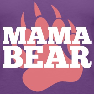 mama bear Tanks - Women's Premium Tank Top