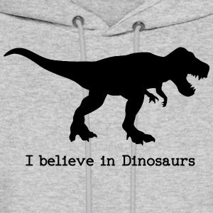 I believe in Dinosaurs Hoodies - Men's Hoodie