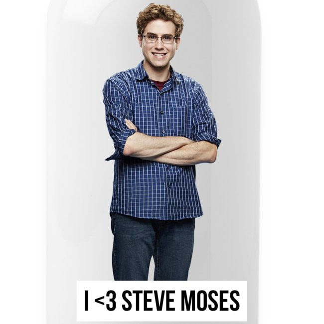 Steve Moses Water Bottle