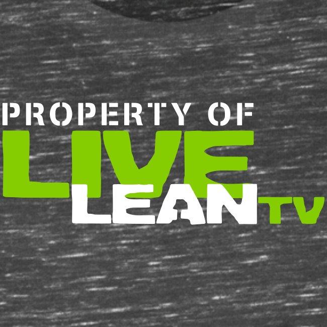 Property of Live Lean TV Women's Muscle Tank