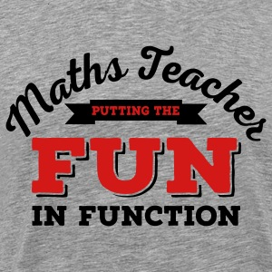 maths teacher T-Shirts - Men's Premium T-Shirt