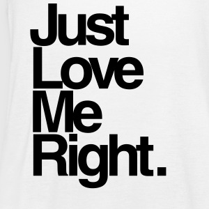 EXO: Love Me Right Simple Tanks - Women's Flowy Tank Top by Bella