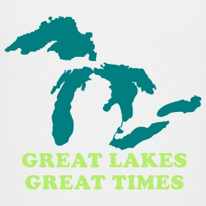 Michigan Great Lakes Great Times Baby & Toddler Shirts - Toddler Premium T-Shirt