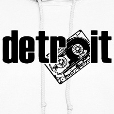 Detroit Cassette Retro 80's Hoodies