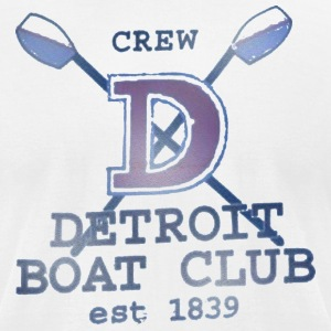 Detroit Boat Club T-Shirts - Men's T-Shirt by American Apparel