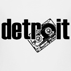 Detroit Cassette Retro 80's Kids' Shirts