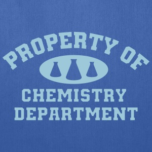 Property Of Chemistry Department - Tote Bag