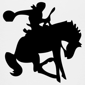Galloping Bucking Horse Cowboy Silhouette  Baby & Toddler Shirts - Toddler Premium T-Shirt