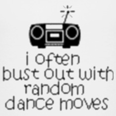 Funny Random Dance Moves Kids' Shirts