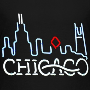 Neon Chicago Sign Baby & Toddler Shirts - Toddler Premium T-Shirt