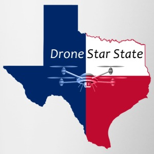 Drone Star State Mugs & Drinkware - Contrast Coffee Mug