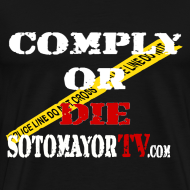 Design ~ Up to 5XL- Comply or Die