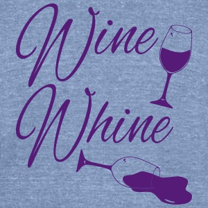 Wine Spilled Whine T-Shirts - Unisex Tri-Blend T-Shirt by American Apparel