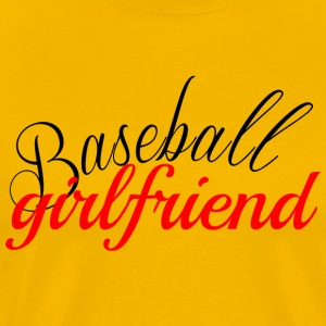 Baseball Girlfriend Shirt - Men's Premium T-Shirt