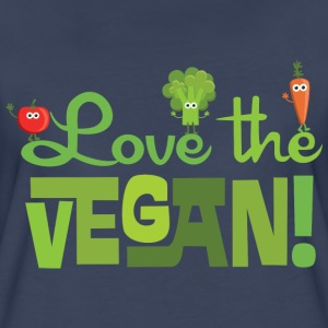Love the Vegan Women's T-Shirts - Women's Premium T-Shirt