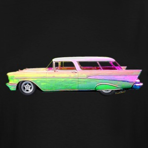 57 Chevy Nomad T-Shirts - Men's Tall T-Shirt