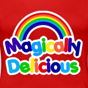 Magically delicious retro rainbow - Women's Premium T-Shirt