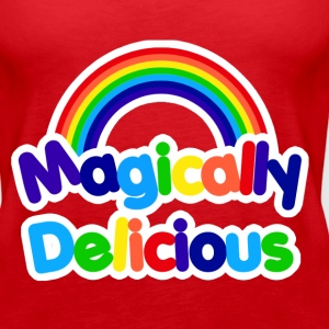 Magically delicious retro rainbow - Women's Premium Tank Top