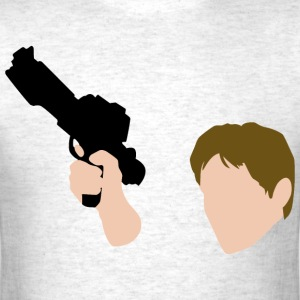 Han Solo with Blaster - Mens - Men's T-Shirt