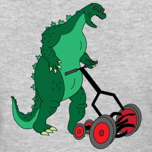 Godzilla Mowing Lawn - Women's T-Shirt