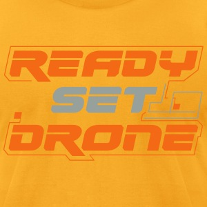 Ready Set Drone - Ole Yeller - Men's T-Shirt by American Apparel