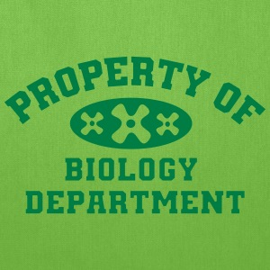 Property Of Biology Department - Tote Bag