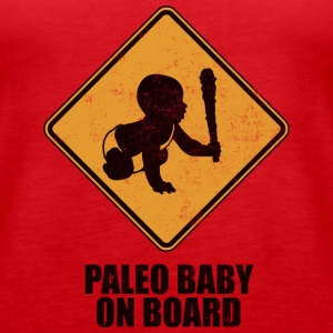 Paleo Baby On Board Tank Top - Women's Premium Tank Top