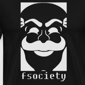 Mr. Robot Fsociety  - Men's Premium T-Shirt