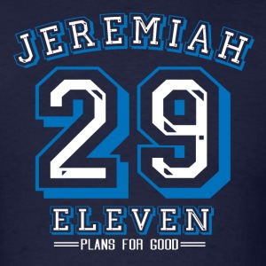 Jeremiah 29:11 Blue - Men's T-Shirt