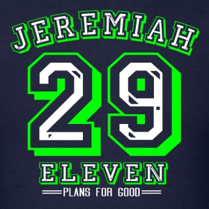 Jeremiah 29:11 Green - Men's T-Shirt