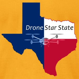 Drone Star State - Men's T-Shirt by American Apparel