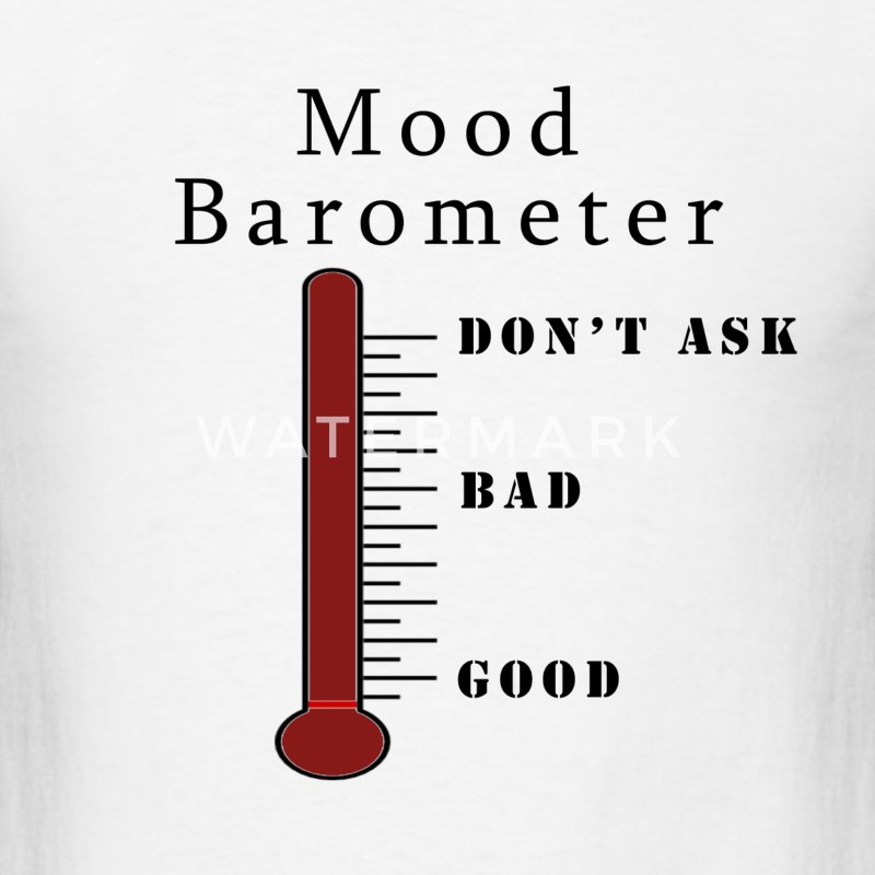 Mood Barometer - Men's T-Shirt
