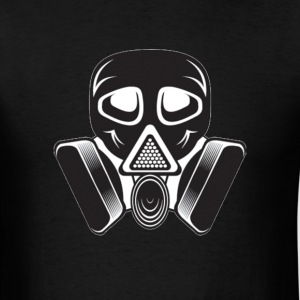 Gas Mask - Poisonous Gas - Men's T-Shirt