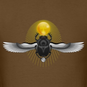 Egyptian Scarab - Ankh Eye of Horus - Men's T-Shirt