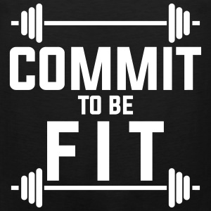 Commit to be fit Tank Tops - Men's Premium Tank